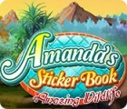 Amanda's Sticker Book: Amazing Wildlife gra