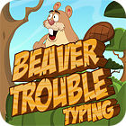 Beaver Trouble Typing gra