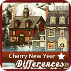 Cherry New Year 5 Differences gra