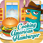 Cooking American Hamburger gra
