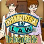 Defenders of Law: The Rosendale File gra