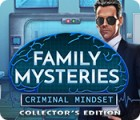 Family Mysteries: Criminal Mindset Collector's Edition gra