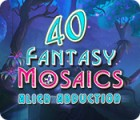 Fantasy Mosaics 40: Alien Abduction game