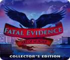 Fatal Evidence: Art of Murder Collector's Edition gra