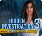 Hidden Investigation 3: Crime Files gra