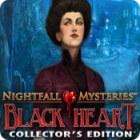 Nightfall Mysteries: Black Heart Collector's Edition gra