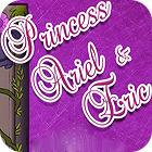 Princess Ariel and Eric. Coloring gra