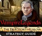 Vampire Legends: The True Story of Kisilova Strategy Guide gra