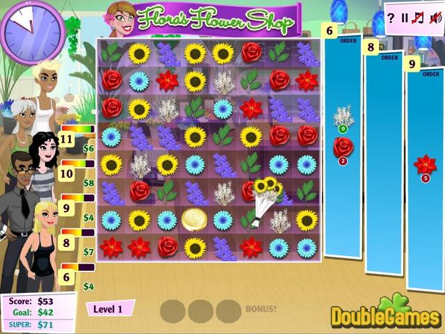 Flower Shop Screenshot