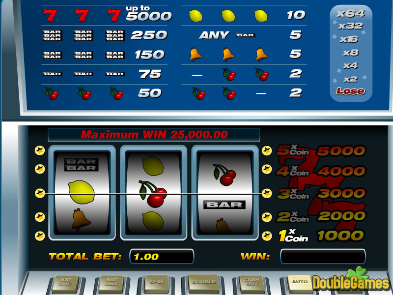 Free Download 5-lines slot Screenshot 1