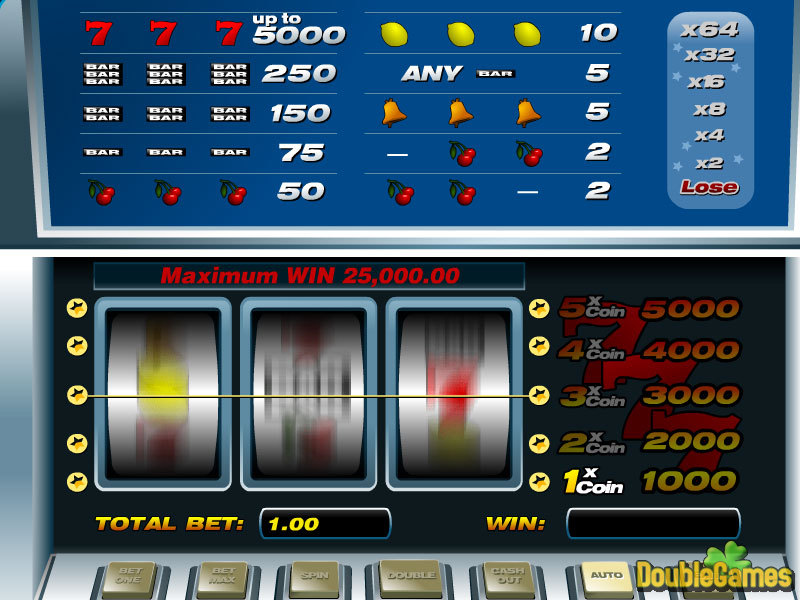 Free Download 5-lines slot Screenshot 2