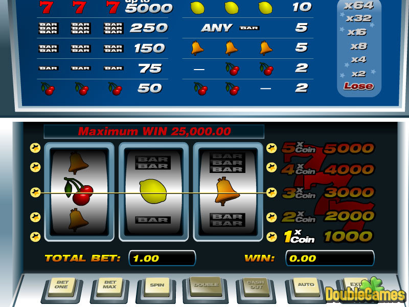 Free Download 5-lines slot Screenshot 3
