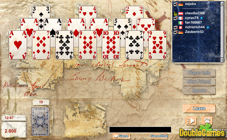 Free Download Ace Solitaire Screenshot 3