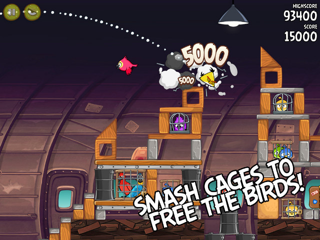 Free Download Angry Birds Rio Screenshot 3
