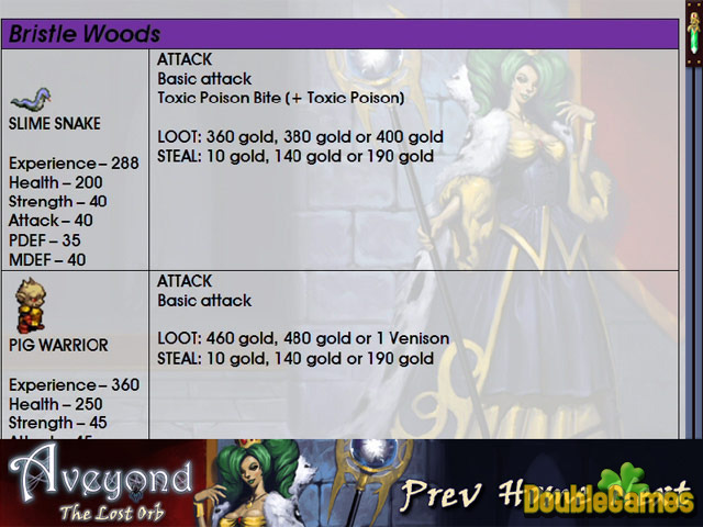 Free Download Aveyond: The Lost Orb Strategy Guide Screenshot 3