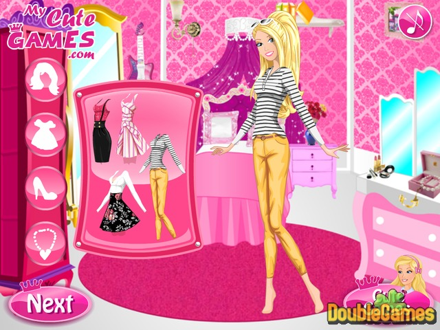 Free Download Barbie Driving Test Screenshot 2