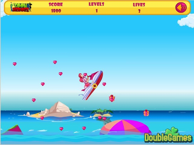 Free Download Barbie Fun Ski Screenshot 1
