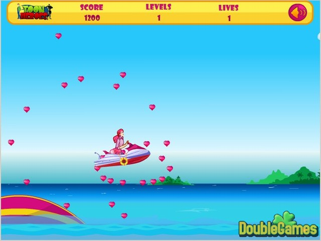 Free Download Barbie Fun Ski Screenshot 3