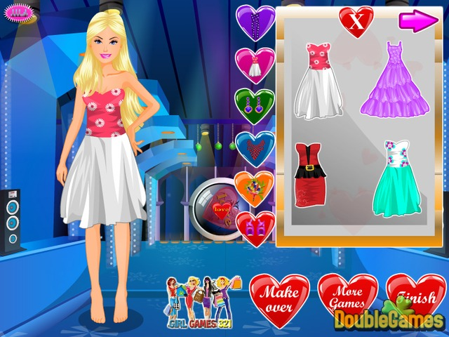 Free Download Barbie Valentine Party Screenshot 2