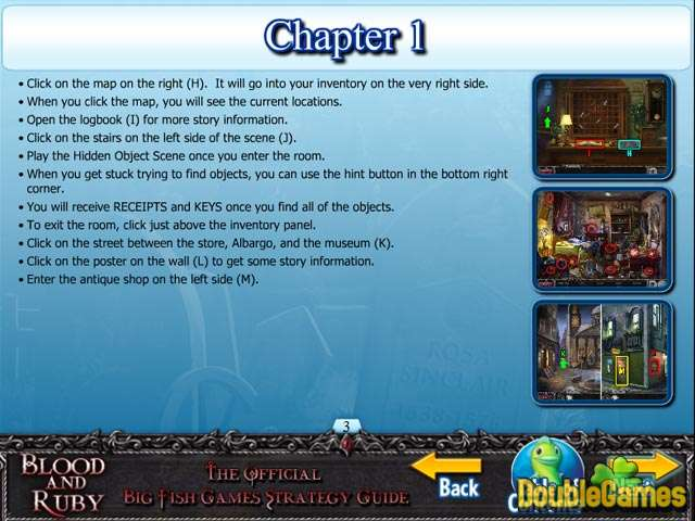 Free Download Blood and Ruby Strategy Guide Screenshot 1