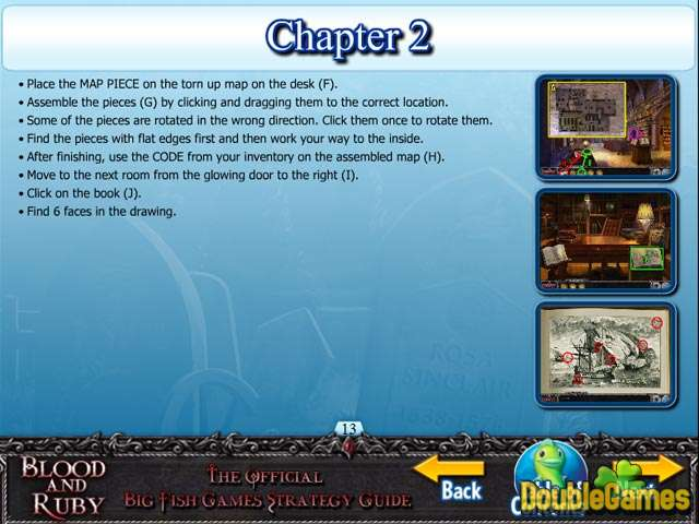Free Download Blood and Ruby Strategy Guide Screenshot 3