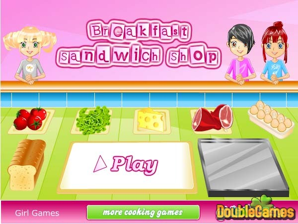 Free Download Breakfast Sandwich Shop Screenshot 1