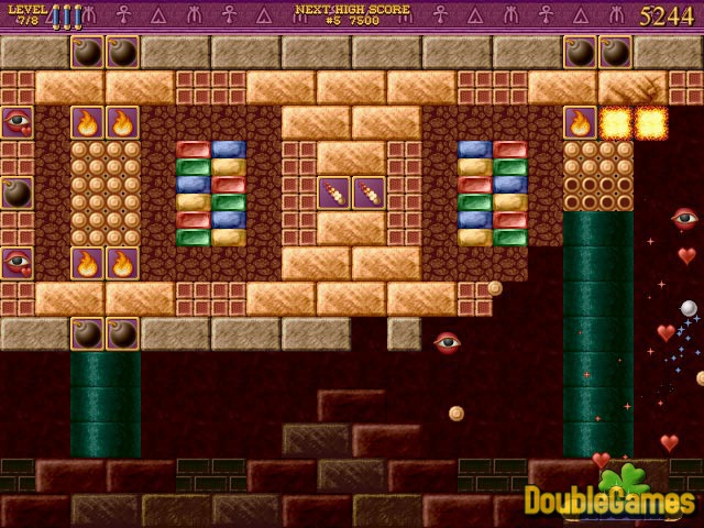 Free Download Bricks of Egypt 2: Tears of the Pharaohs Screenshot 1