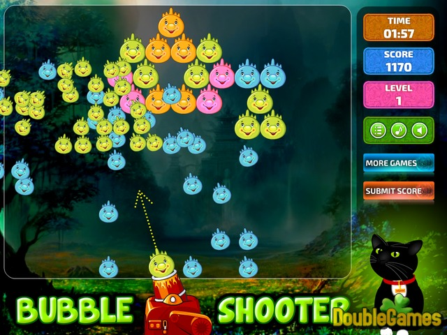 Free Download Bubble Shooter Dino Screenshot 2