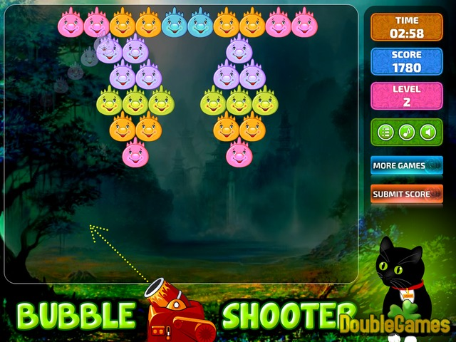 Free Download Bubble Shooter Dino Screenshot 3