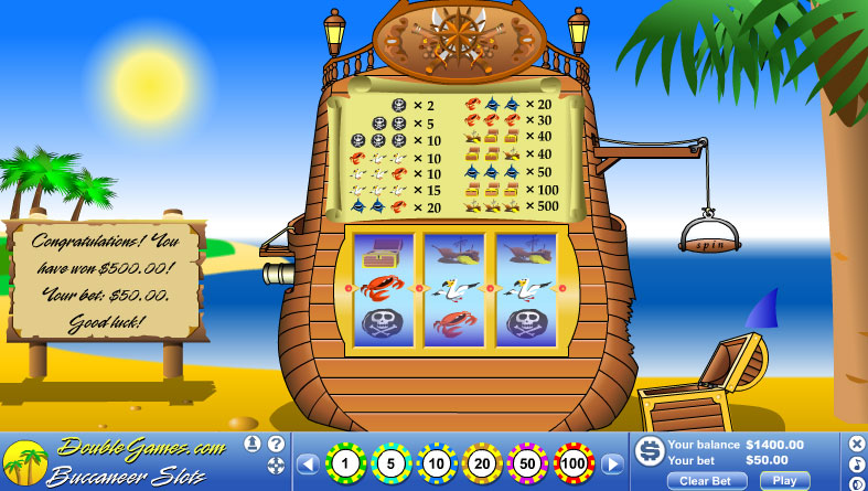 Free Download Buccaneer Slots Screenshot 2