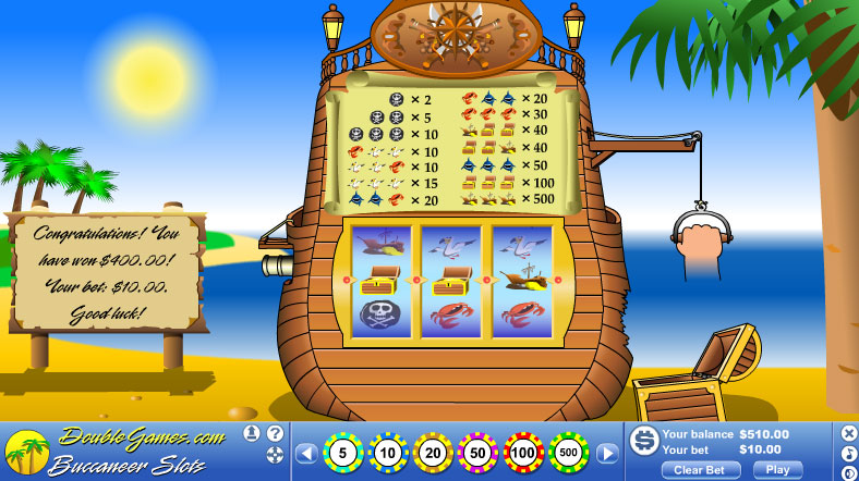 Free Download Buccaneer Slots Screenshot 3