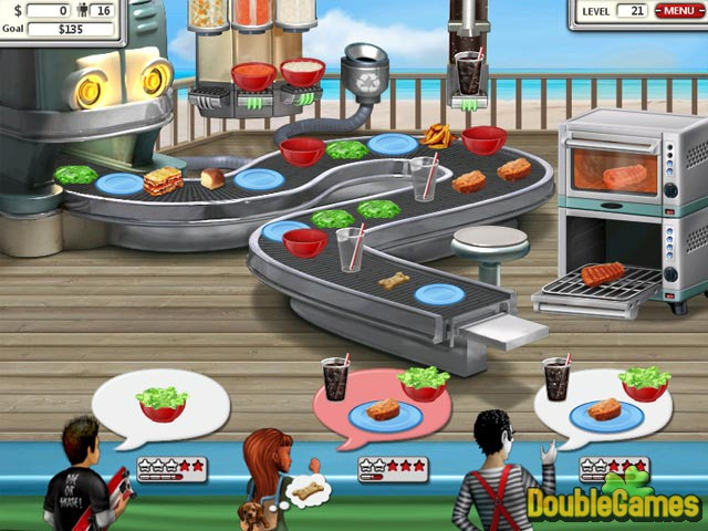 Free Download Burger Shop 2 Screenshot 1