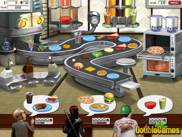 Free Download Burger Shop 2 Screenshot 2