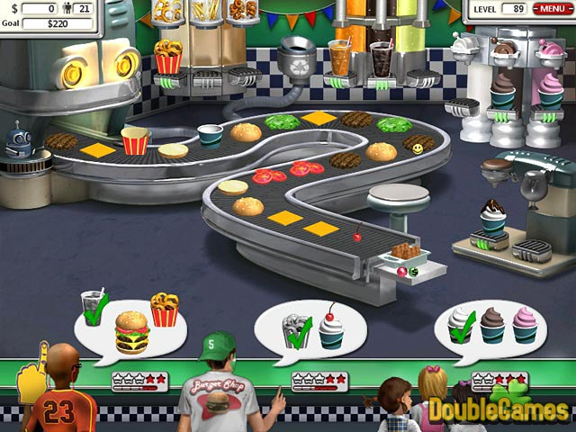 Free Download Burger Shop 2 Screenshot 3