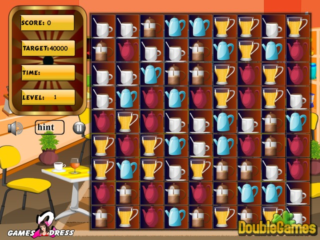 Free Download Cafe Swap. Puzzle Screenshot 2