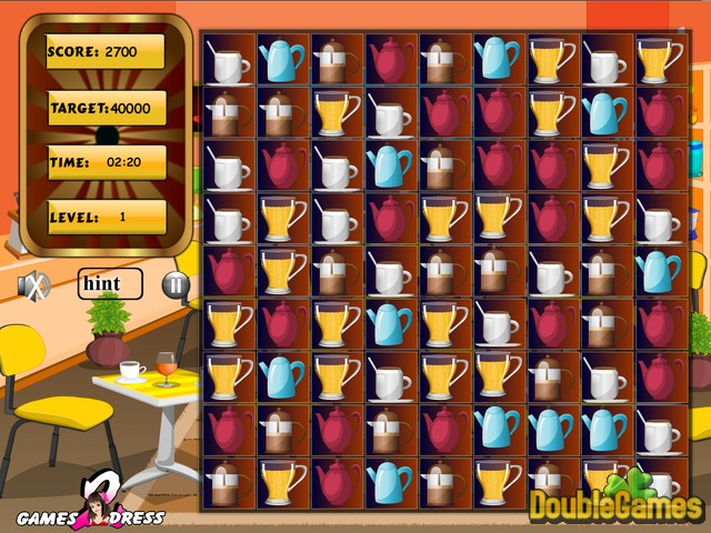 Free Download Cafe Swap. Puzzle Screenshot 3