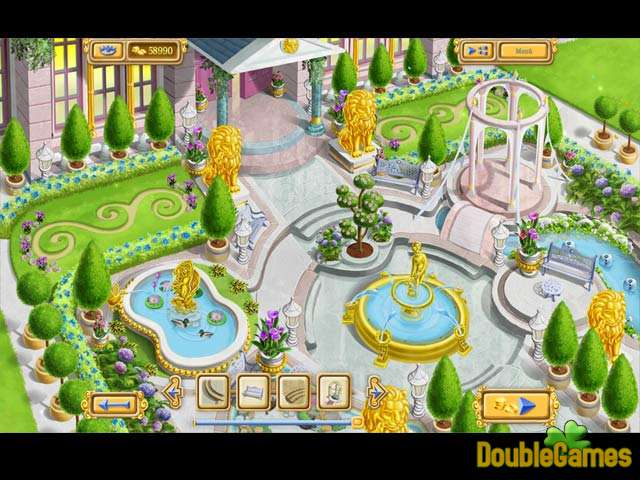 Free Download Chateau Garden Screenshot 2