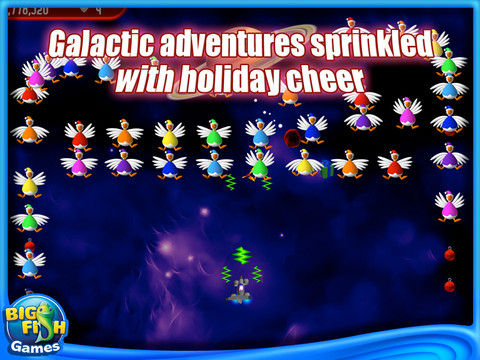 Free Download Chicken Invaders 2: The Next Wave Christmas Edition Screenshot 1
