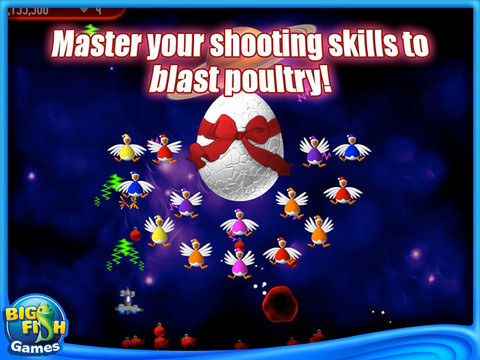 Free Download Chicken Invaders 2: The Next Wave Christmas Edition Screenshot 2
