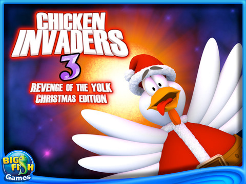 Free Download Chicken Invaders 3: Revenge of the Yolk Christmas Edition Screenshot 1