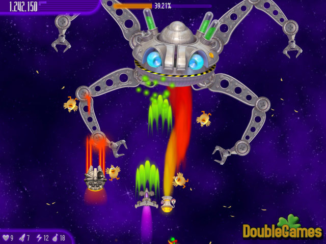 Free Download Chicken Invaders 4: Ultimate Omelette Screenshot 3