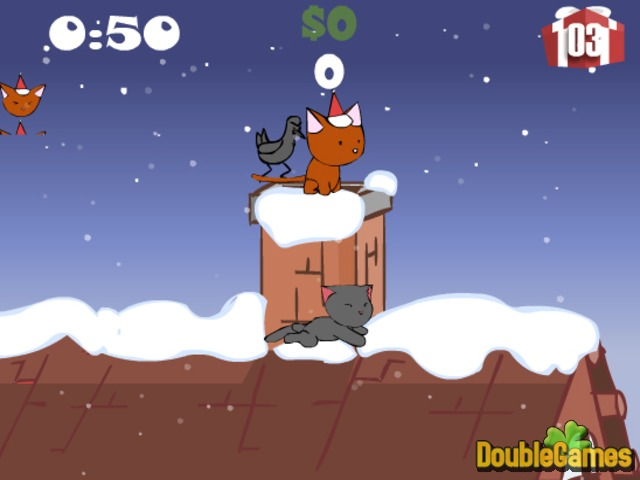 Free Download Christmas Cat Screenshot 1