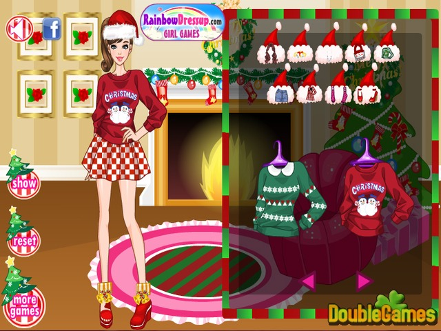 Free Download Christmas Fashion Screenshot 2