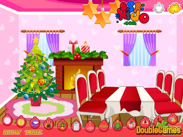 Free Download Christmas. Living Room Screenshot 2