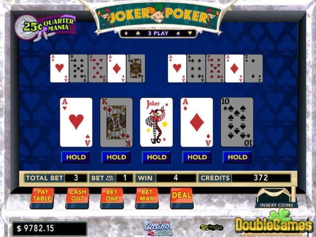 Free Download Club Vegas Casino Video Poker Screenshot 3