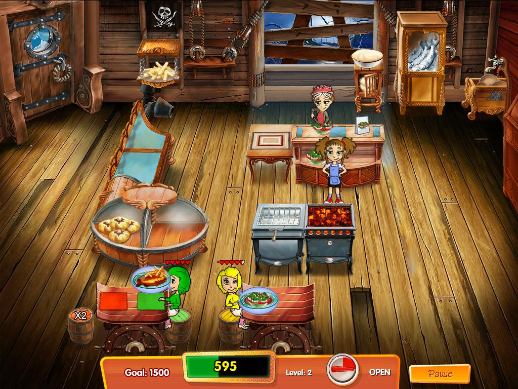 Free Download Cooking Dash 3: Thrills and Spills Screenshot 1