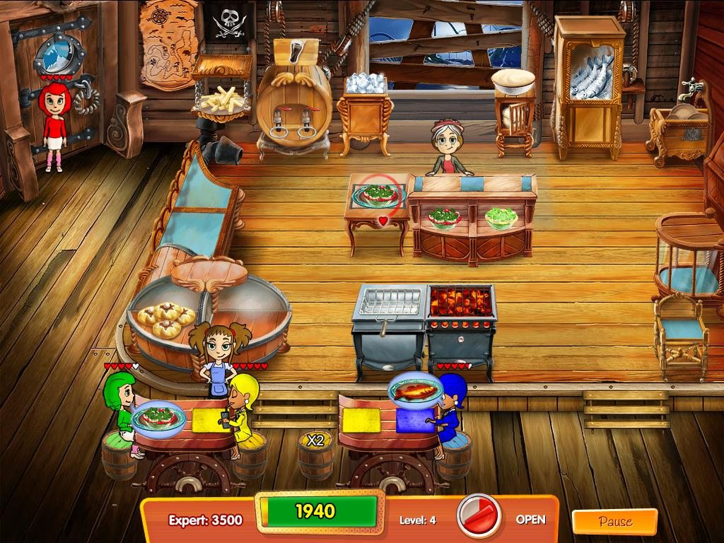 Free Download Cooking Dash 3: Thrills and Spills Screenshot 3