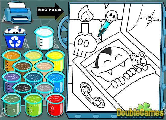 Free Download Creepy Coloring Screenshot 3