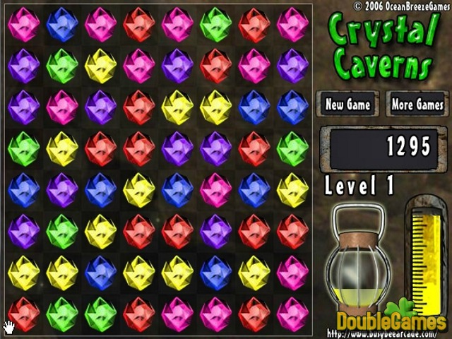 Free Download Crystal Caverns Screenshot 1