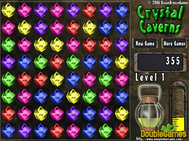 Free Download Crystal Caverns Screenshot 2